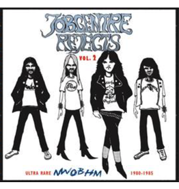 On The Dole Records Various - Jobcentre Rejects Vol 2- Ultra Rare NWOBHM 1980-1985 (Coloured Vinyl)