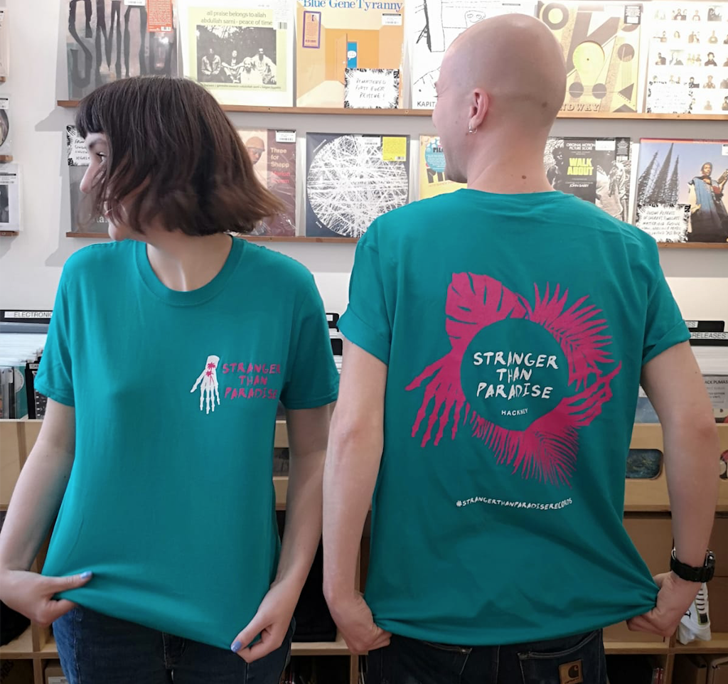 Stranger Than Paradise Records Stranger Than Paradise - Limited Jade T-shirt