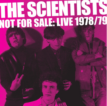 Grown Up Wrong The Scientists - Not For Sale - Live 1979 (Coloured Vinyl)