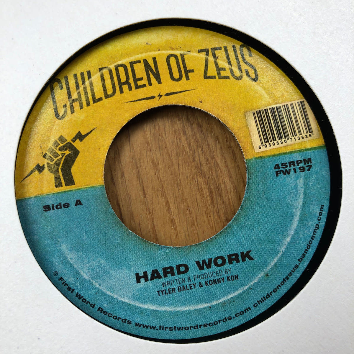 First Word Records Children Of Zeus - Hard Work / The Heart Beat Pt 2