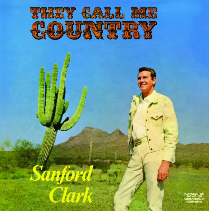 Numero Group Sanford Clark - They Call Me Country