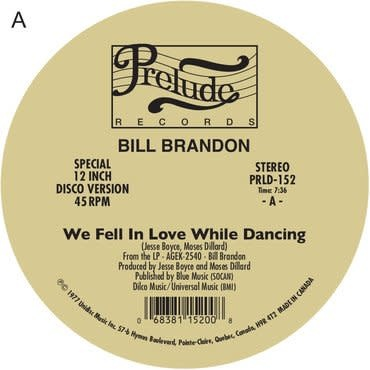 Expansion Records Bill Brandon & Lorraine Johnson - The Streets Got My Lady / Whatever I Am, I'm Yours