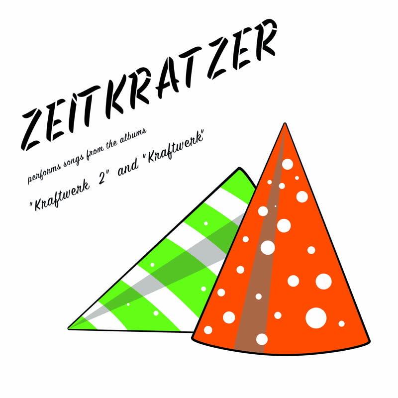 """Karl Records Zeitkratzer - Zeitkratzer Plays Songs From The Albums """"Kraftwerk 2"""" And """"Kraftwerk"""""""