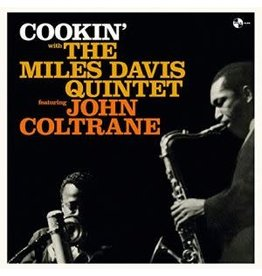 Pan Am Records Miles Davis Quintet Featuring John Coltrane - Cookin'