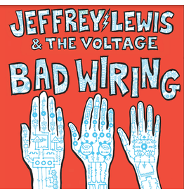 Moshi Moshi Jeffrey Lewis & The Voltage - Bad Wiring (Coloured Vinyl)