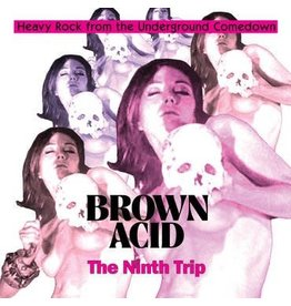 Riding Easy Various - Brown Acid - The Ninth Trip (Coloured Vinyl)