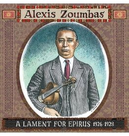 Third Man Records Alexis Zoumbas - A Lament For Epirus 1926 - 1928