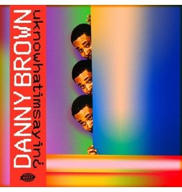 Warp Records Danny Brown - Uknowhatimsayin¿