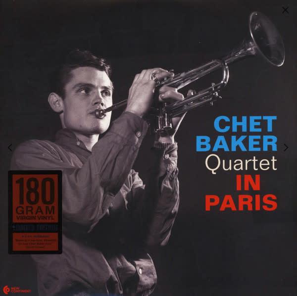 New Continent Chet Baker Quartet - In Paris