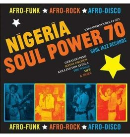 Soul Jazz Records Various - Soul Jazz Records presents Nigeria Soul Power 70 - Afro-Funk, Afro-Rock, Afro-Disco