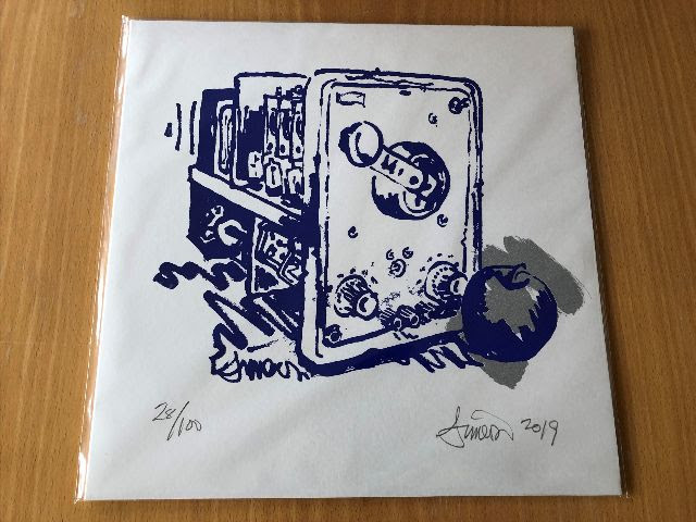 Chicken Coop Silver Apples - Oscillations (Signed Edition)