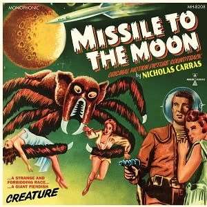 Sundazed Records Nicholas Carras - Missile To The Moon OST (Coloured Vinyl)
