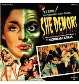 Sundazed Records Nicholas Carras - She Demons OST (Coloured Vinyl)