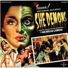Sundazed Records Nicholas Carras - She Demons OST (Coloured Vinyl)