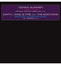 """UMC Donna Summer / Earth, Wind and Fire with The Emotions - I Feel Love (Patrick Cowley Mega Mix) / Boogie Wonderland (12"""" Version)"""