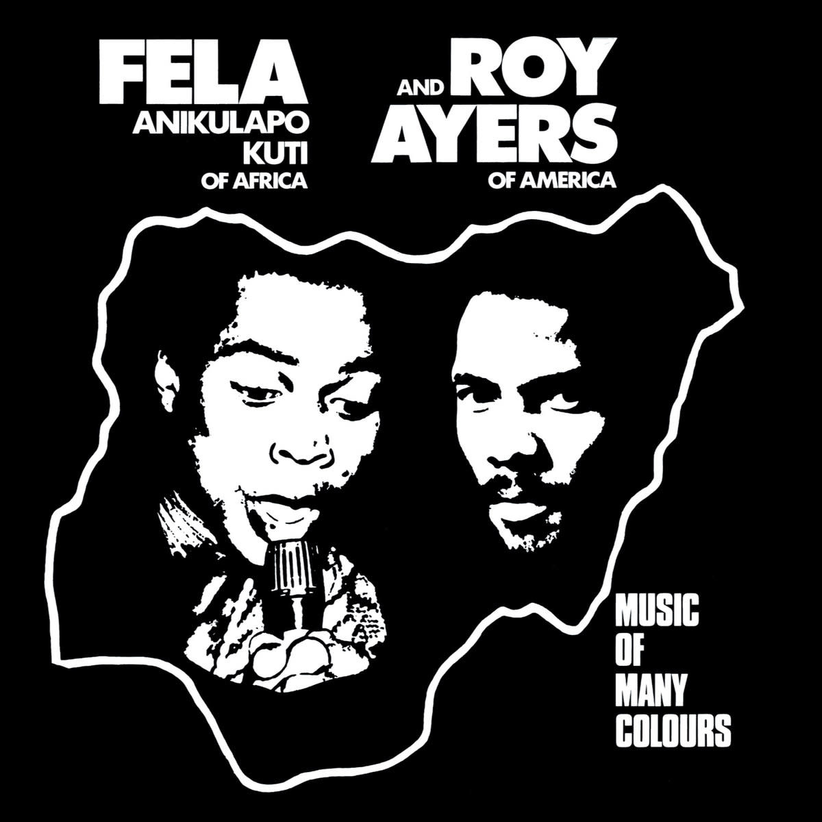 Knitting Factory Records Fela Kuti & Roy Ayers - Music of Many Colours