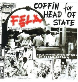 Knitting Factory Records Fela Kuti - Coffin for Head of State