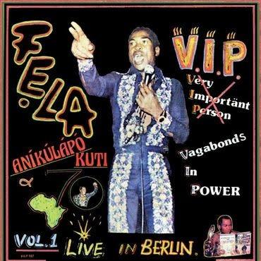 Knitting Factory Records Fela Kuti -  V.I.P.