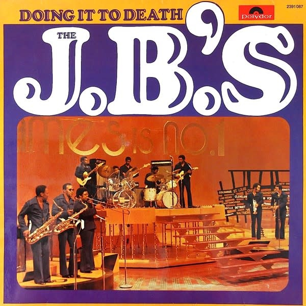 People Records J.B.'s - Doing It To Death