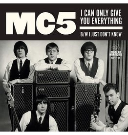 Sundazed Records MC5 - I Can Only Give You Everything / I Just Don't Know (Coloured Vinyl)