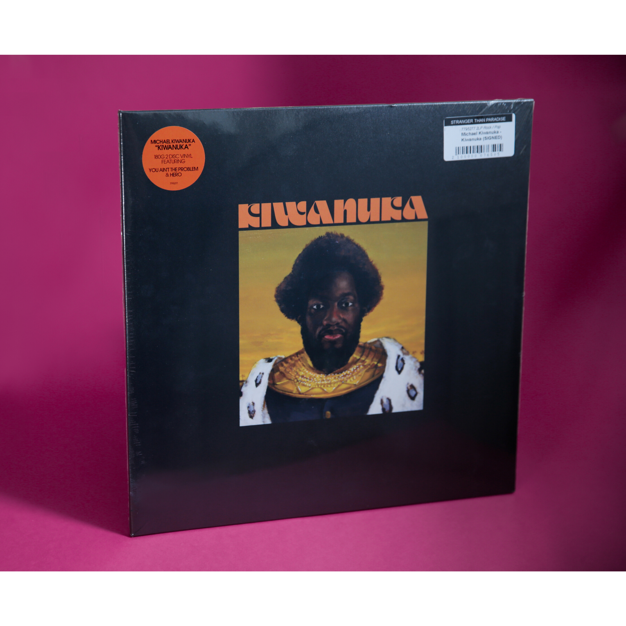 Polydor Michael Kiwanuka - Kiwanuka (SIGNED Coloured Vinyl)