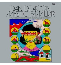 Domino Records Dan Deacon - Mystic Familiar (Coloured Vinyl)