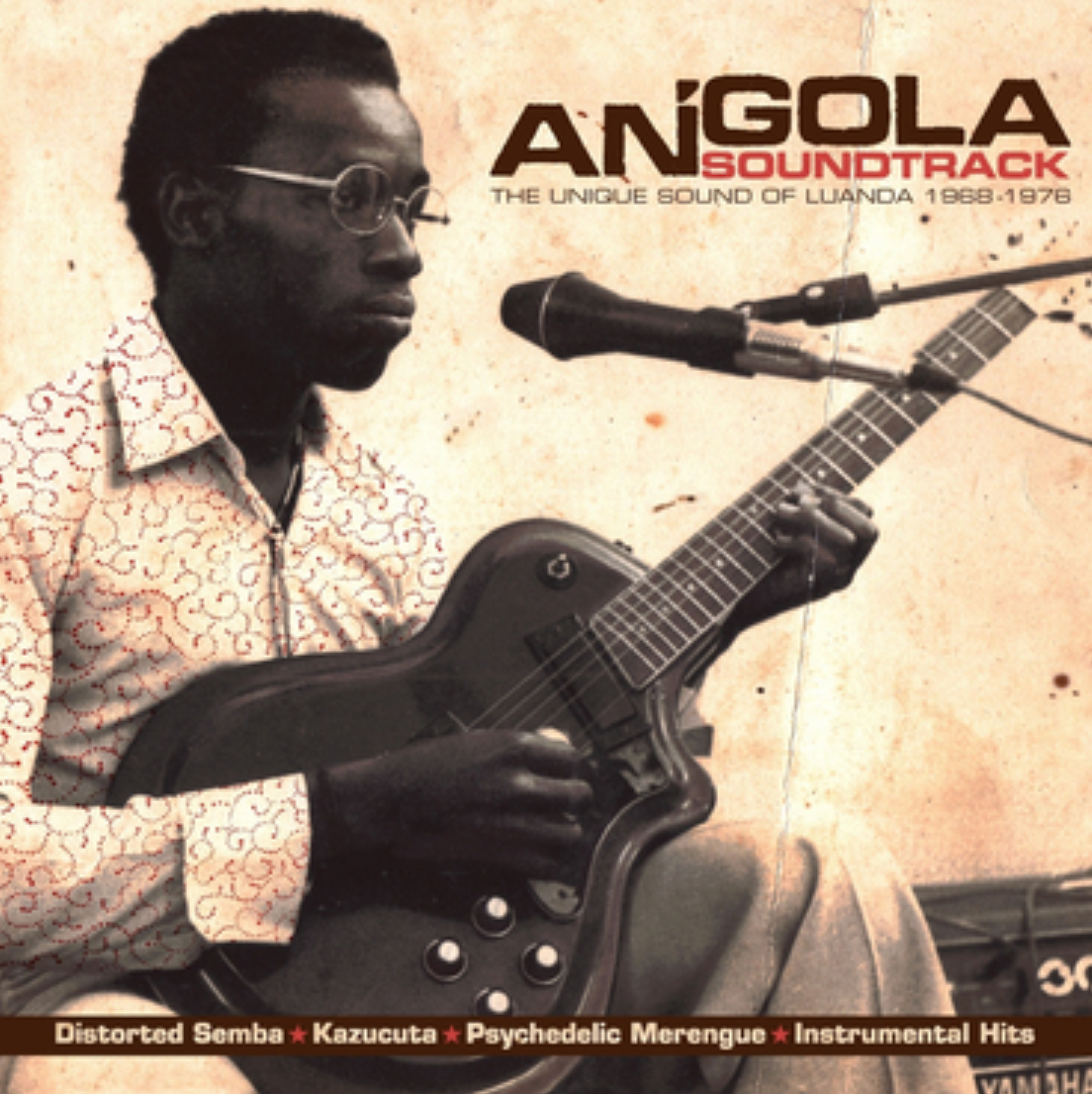 Analog Africa Various - Angola Soundtrack  The Unique Sound Of Luanda 1968 - 1976