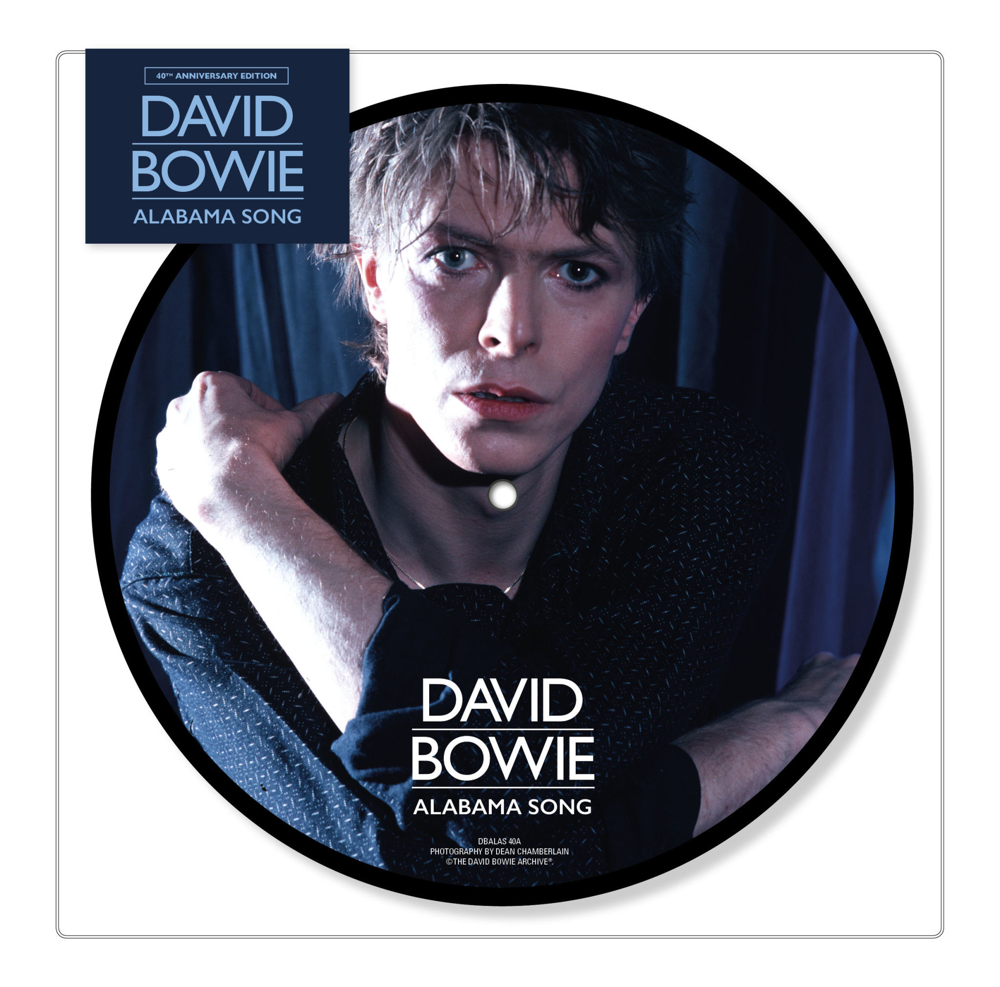 """Parlophone David Bowie - Alabama Song (7"""" Picture Disc)"""