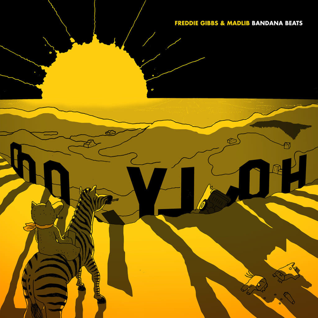 Columbia Freddie Gibbs & Madlib -  Bandana Beats