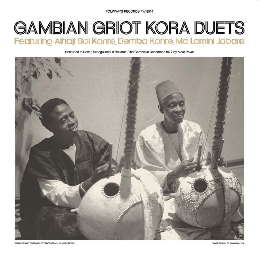Smithsonian Folkways Special Series Alhaji Bai Konte, Dembo Konte & Ma Lamini Jobate - Gambian Griot Kora Duets