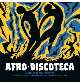 Four Flies Alessandro Alessandroni - Afro Discoteca (Reworked And Reloved)