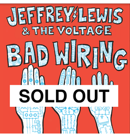 Moshi Moshi Jeffrey Lewis & The Voltage - Bad Wiring (Dinked Edition)
