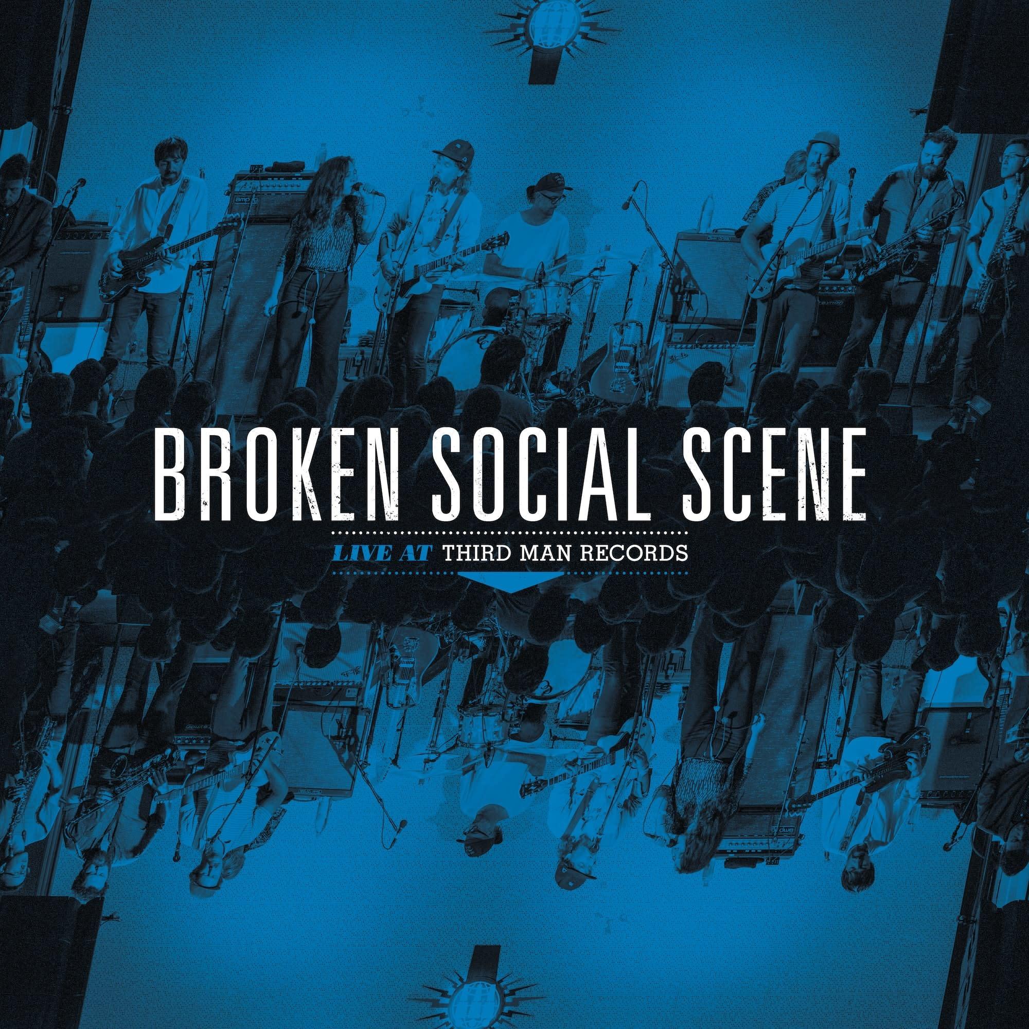 Third Man Records Broken Social Scene - Broken Social Scene Live At Third Man Records