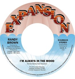 Expansion Records Randy Brown - I'm Always In The Mood / Love Is All We Need