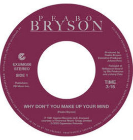 Expansion Records Peabo Bryson - Why Don't You Make Up Your Mind / Paradise