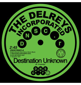 Deptford Northern Soul Club Records The Delreys Incorporated & Oscar Wright - Destination Unknown/ Fell In Love