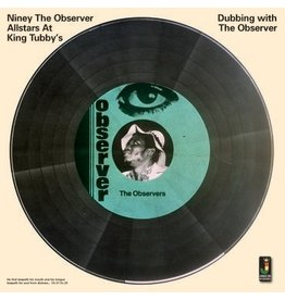 Jamaican Recordings Niney The Observer - Dubbing With The Observer