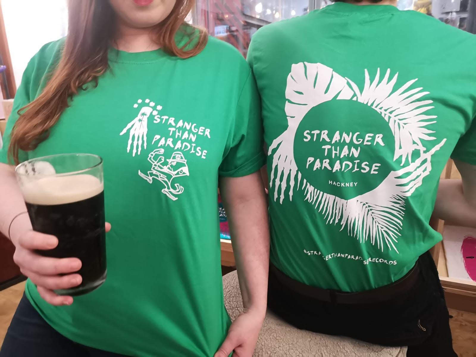 Stranger Than Paradise Records Stranger Than Paradise - Limited St. Patrick's Day T-Shirt