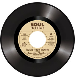 Outta Sight Cornelius Brothers and Sister Rose - Too Late To Turn Back Now / Big Time Lover