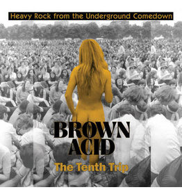 Riding Easy Records Various - Brown Acid - The Tenth Trip (Coloured Vinyl)