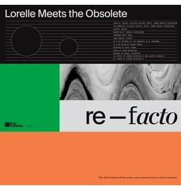 Sonic Cathedral Lorelle Meets The Obsolete - Re-facto (Coloured Vinyl)