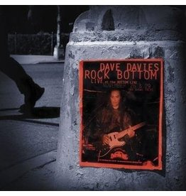 Red River Entertainment Dave Davies - Rock Bottom: Live at the Bottom Line (20th Anniversary Limited Edition 2LP)
