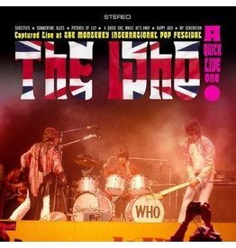 The Monterey International Pop Festival Foundation The Who - A Quick Live One