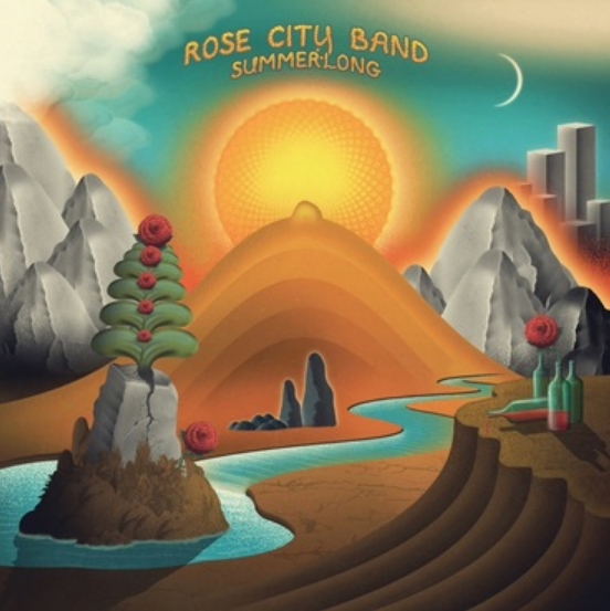 Thrill Jockey Rose City Band - Summerlong (Coloured Vinyl)