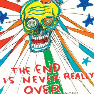 Feraltone Daniel Johnston - The End is Never Really Over (XL Shirt)