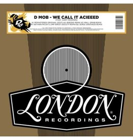 London Records D-Mob feat. Gary Haisman - We Call It Acieeed