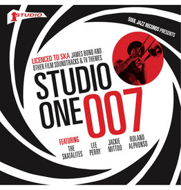 Soul Jazz Records Soul Jazz Records Presents - STUDIO ONE 007: Licensed To Ska! James Bond and other Film Soundtracks & TV Themes