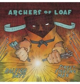 "Merge Records Archers of Loaf - Raleigh Days  b/w ""Street Fighting Man"""