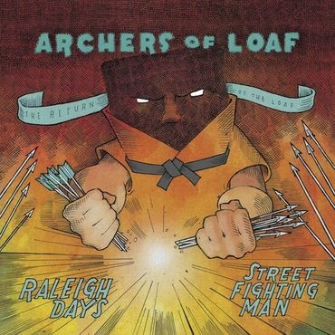 """Merge Records Archers of Loaf - Raleigh Days  b/w """"Street Fighting Man"""""""