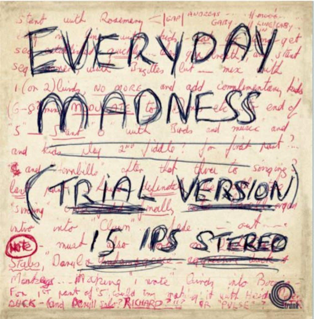 Trunk Records Basil Kirchin - Everyday Madness